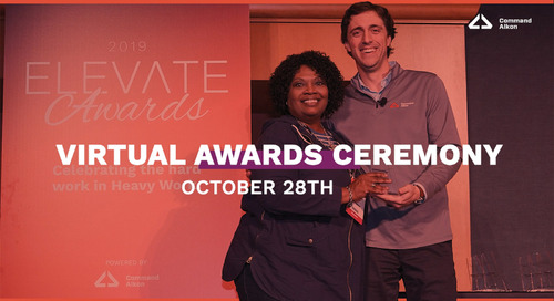 Join Us For Elevate Awards 2020 | Virtual Awards Ceremony