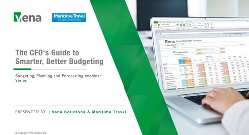 The CFO's Guide to Smarter, Better Budgeting
