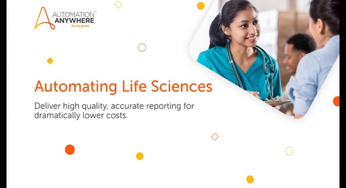 Life Sciences Regulatory Reporting Process Automation Use Case