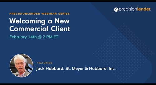 2019-02-14 13.58 PrecisionLender Webinar Series_ What a Brooklyn Hotel and a Beer Cart Driver Can Teach Us About Welcoming New Client