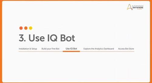 IQ Bot How To - A2019 Community Edition IQ Bot Overview