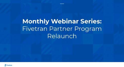 Fivetran Partner Program Update