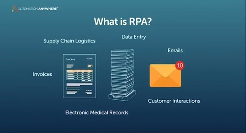What is RPA? Transform the way you work. Get a bot!