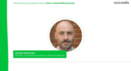 Marks & Spencer on Motivating Suppliers across their Sustainability Journey