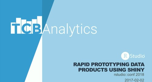 Rapid prototyping data products using Shiny – Tanya Cashorali