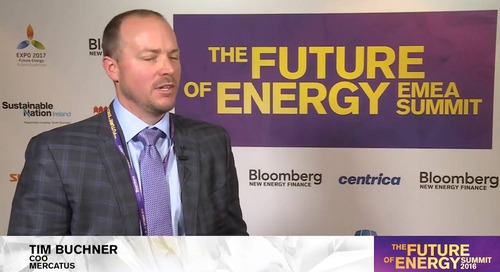The Future of Energy Summit 2016 | Tim Buchner