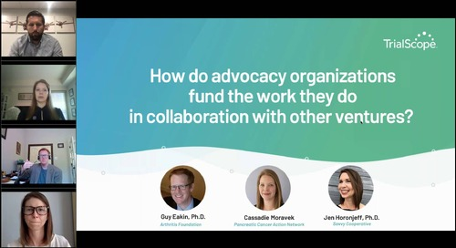 Panel: How Sponsors & Patient Advocacy Groups Can Collaborate on Clinical Trials