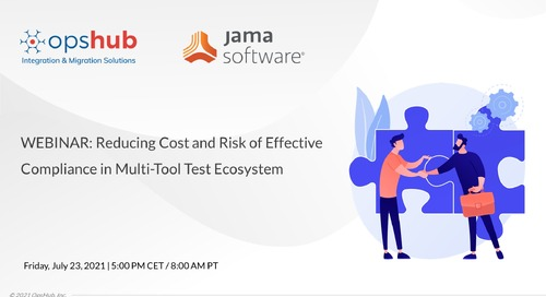 Reducing Cost and Risk of Effective Compliance in Multi-Tool Test Ecosystems