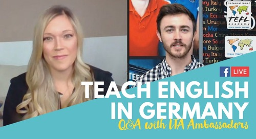 Teach English In Germany - Q&A with Tamie Arietta