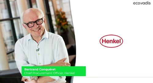 Bertrand Conquéret, CPO Explains What's The Role Of Procurement On Achieving Henkel's Sustainability Goals