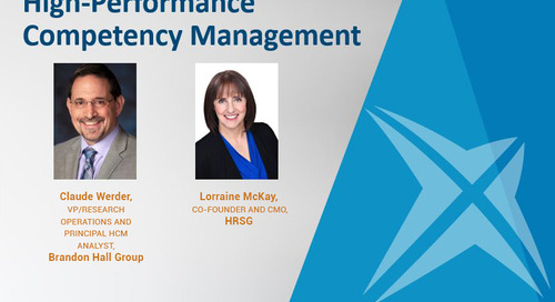 5 Imperatives for High-Performance Competency Management