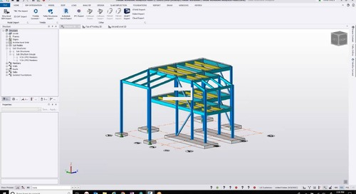 Complete Structural BIM Solutions from Design to Erection: Part I