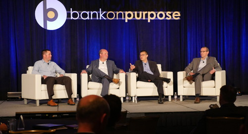 Making Truly Meaningful Change – Why It's Worth the Pain (Panel) - BankOnPurpose 2016