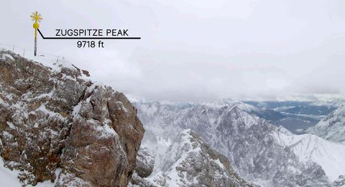 Zugspitze 1 min.