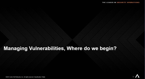 A Roundtable Discussion Around Vulnerability Management: From Your Peer's Perspective