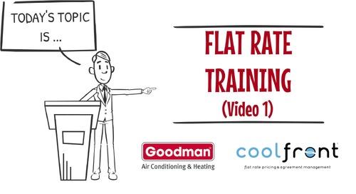 Flat Rate Training Video 1 Goodman