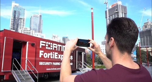 FortiExpress at Tumbalong Park Sydney
