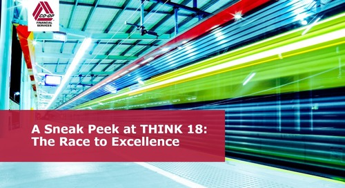 A Sneak Peek at THINK 18 The Race to Excellence