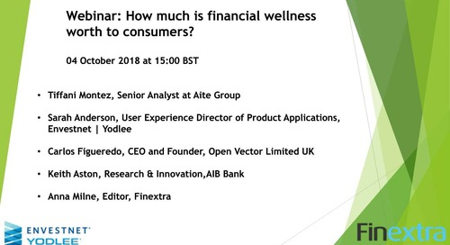 On-Demand Webinar: How Much is Financial Wellness Worth to Customers?