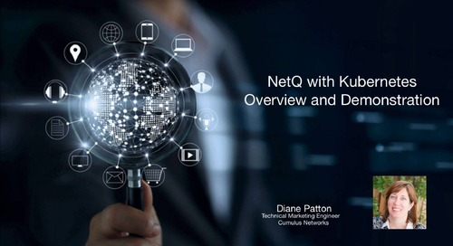 NetQ with Kubernetes overview and demonstration