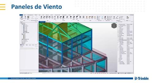 Análisis y Diseño Estructural con Tekla Structural Designer