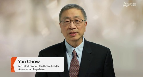 The Art of the Possible in Healthcare, Dr. Yan Chow, Global Healthcare Strategist
