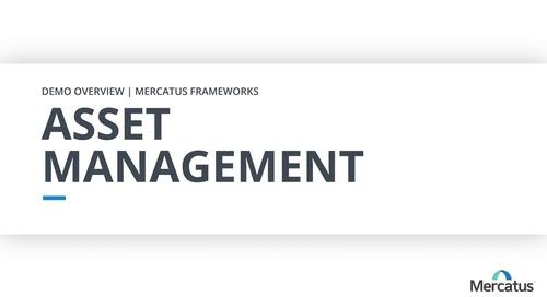 Asset Management - Overview Demo