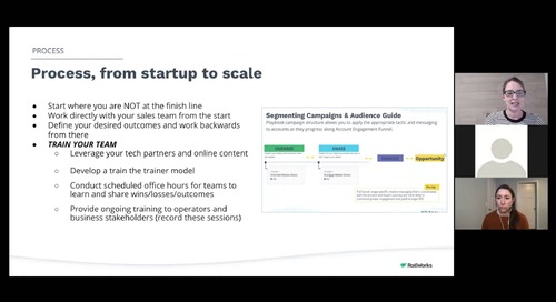 B2BMX ABM in Action – ABM Start Up to Scale