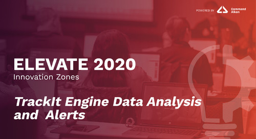TrackIt Engine Data Analysis and Alerts | ELEVATE 2020
