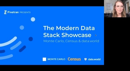 The Modern Data Stack Showcase: Monte Carlo, Census & data.world