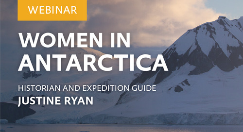 Webinar: Women in Antarctica