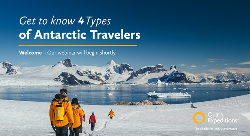 Get to Know 4 Types of Antarctic Travelers