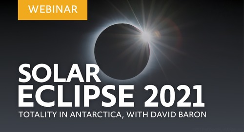 Author David Baron sheds light on the 2021 Solar Eclipse in Antarctica
