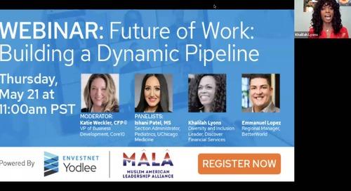 On-Demand Webinar: Future of Work: Building a Dynamic Pipeline