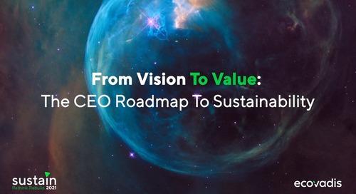 De la vision à la valeur : la feuille de route du PDG sur la durabilité et la transformation responsable