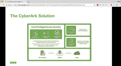 Duo Security and CyberArk: Better Solutions for Privileged Access Protection