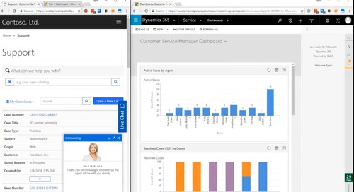 Improve Customer Engagement with Microsoft Dynamics 365 for Customer Service