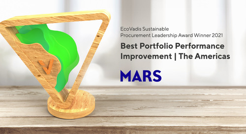 Barry Parkin, Chief Procurement & Sustainability Officer, Mars - Best Portfolio Performance Improvement