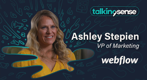 Revenue Marketing Meets Customer Experience with Ashley Stepien, VP of Marketing at Webflow