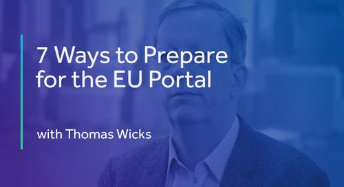 7 Ways to Prepare for the EU Portal