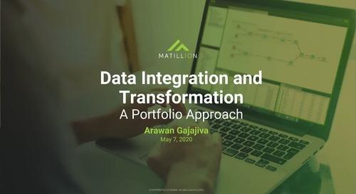 Data Transformation: A Portfolio Approach