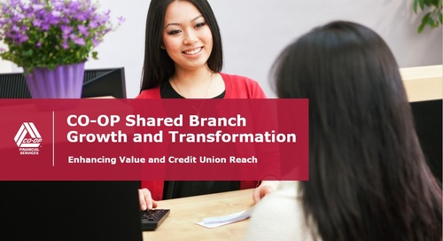 CO-OP Shared Branch Growth and Transformation Enhancing Value and Credit Union Reach (Internal)
