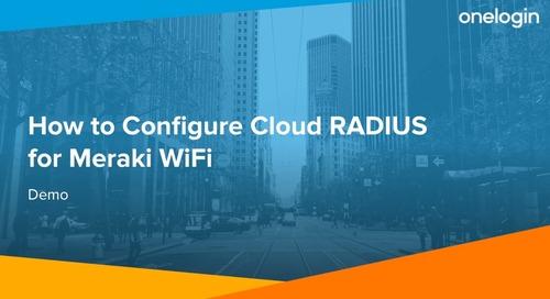 How to Configure Cloud RADIUS for Meraki WiFi