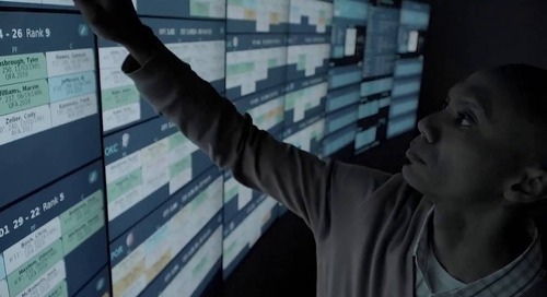 MultiTaction Displays - IBM Watson MultiTaction for Toronto Raptors
