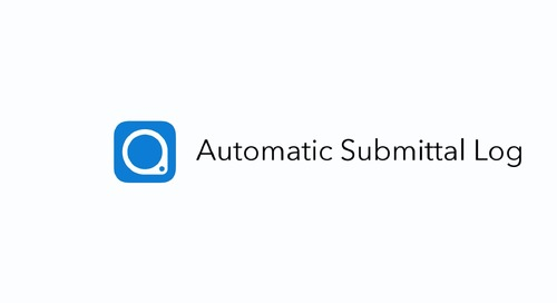 PlanGrid Automatic Submittal Log