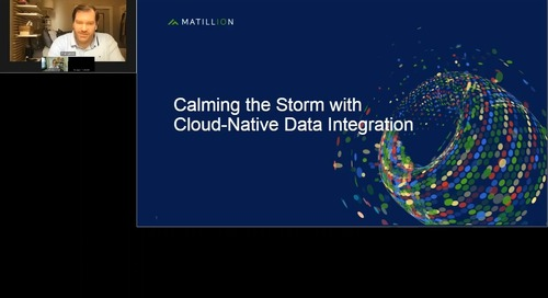 Webinar - Calming the Storm with Cloud Data Management
