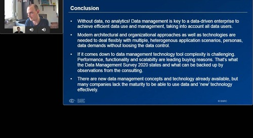 The Customer Verdict on Data Management Technology
