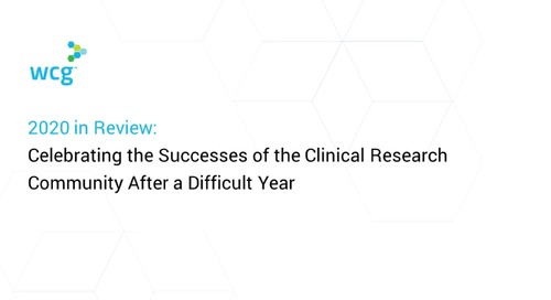 2020 in Review: Celebrating the Successes of the Clinical Research Community After A Difficult Year