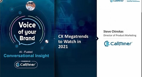 Best Practices Roundtable Webinar: CX Megatrends to Watch in 2021