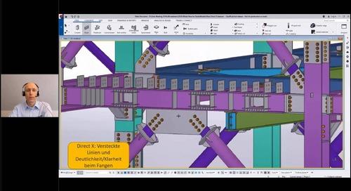 Tekla Structures 2020 - Neuerungen Stahlbau
